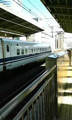 大阪に向かう